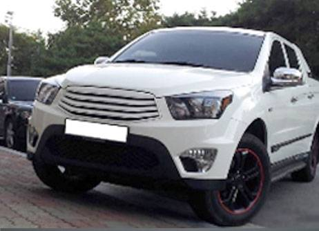 SSANGYONG ACTYON SPORTS Белый медведь
