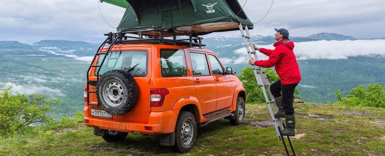 Экспедиционный багажник версии «Экспедиция» от UAZ