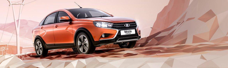 Спортивные очертания Vesta Cross седан
