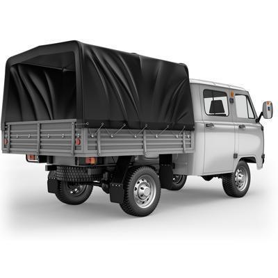 Цельнометаллическая двухместная кабина УАЗ бортовой