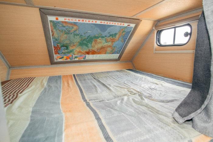 Спальное место Автодом 4x4 на базе УАЗ