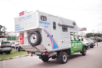 Автодом 4x4 на базе УАЗ