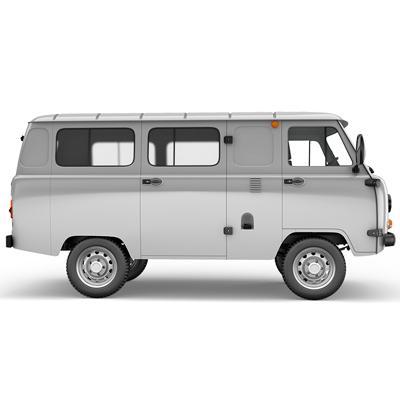 Усиление рамы и кронштейнов УАЗ Цельнометаллический фургон