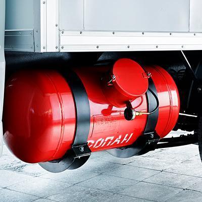 Фургон УАЗ Профи с газобаллонным оборудованием