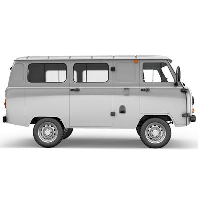 Увеличение толщины поперечины остекленного грузопассажирского фургона УАЗ