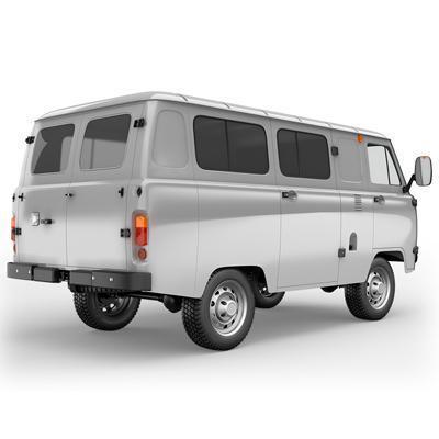 Усиление рамы и кронштейнов остекленного грузопассажирского фургона УАЗ