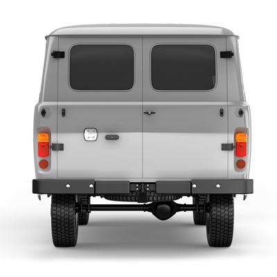 Окраска цвета «металлик» остекленного грузопассажирского фургона УАЗ
