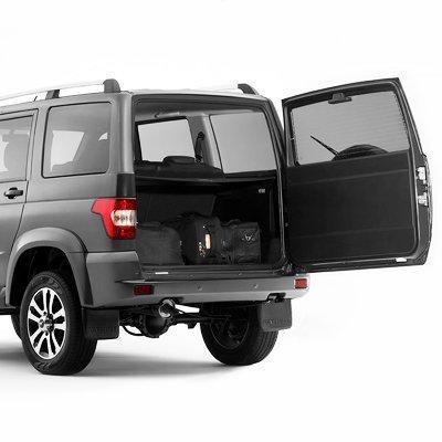 Багажник обновленного УАЗ Патриот
