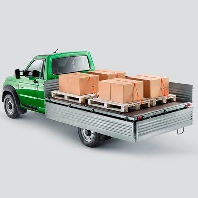 Обтекаемые линии кузова УАЗ Профи с однорядной кабиной