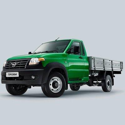 УАЗ Профи с однорядной кабиной новый цвет кузова