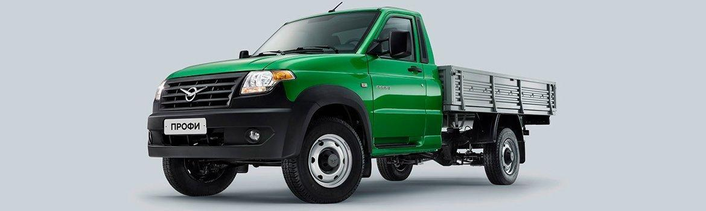 УАЗ Профи с однорядной кабиной «зеленый металлик»