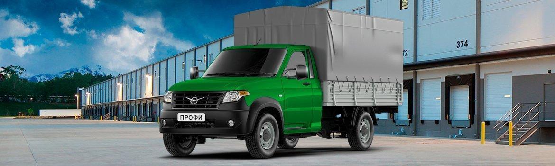 Новый УАЗ Профи 4х4 с однорядной кабиной