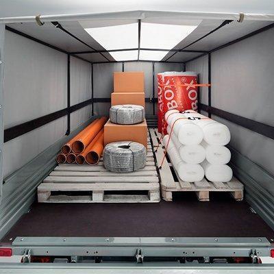 Вместимость Кузов УАЗ Профи с однорядной кабиной