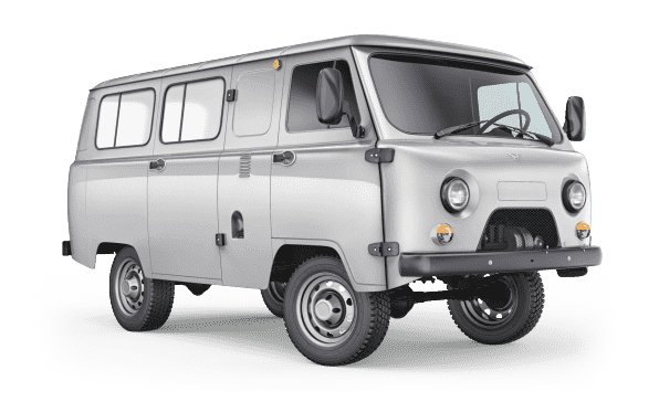374195 Остекленный грузопассажирский фургон мосты Спайсер с БДИФ 5 мест