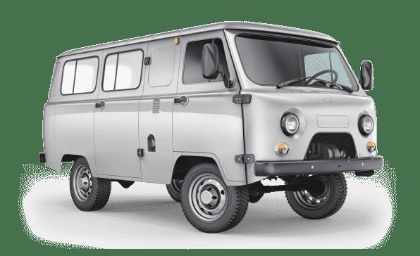 374195 Остекленный грузопассажирский фургон мосты Тимкен 2 места