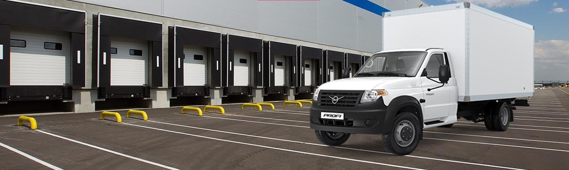 Изотермический фургон на базе УАЗ Профи Полуторка (длинная база)
