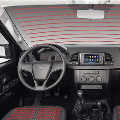 Интерьер Промтоварный фургон на базе УАЗ Профи Полуторка (длинная база) - 3